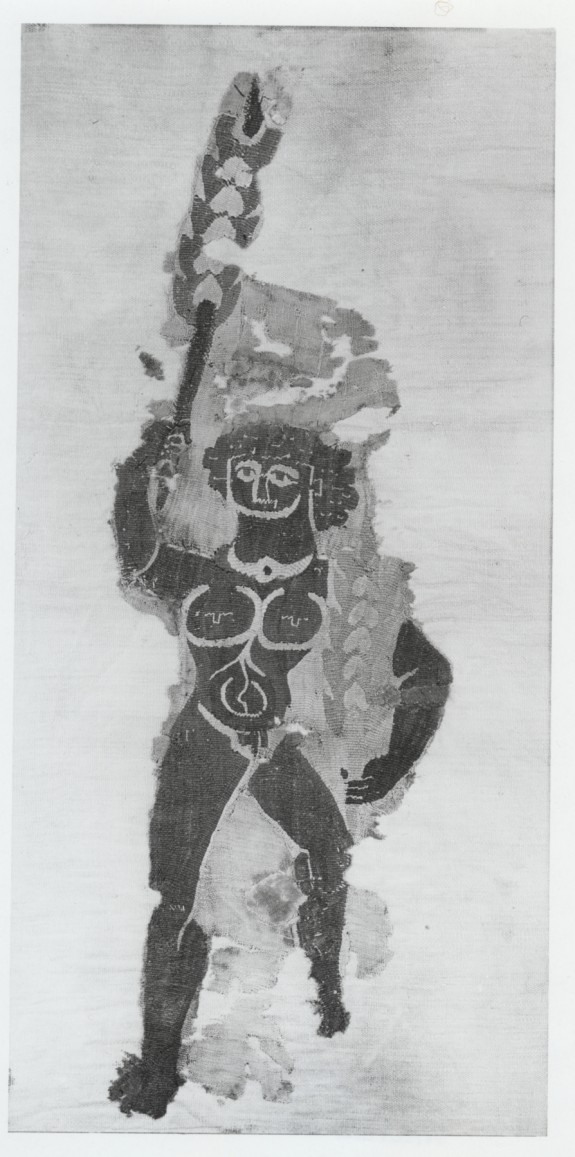 Wall Hanging or Curtain Fragment with Dancer