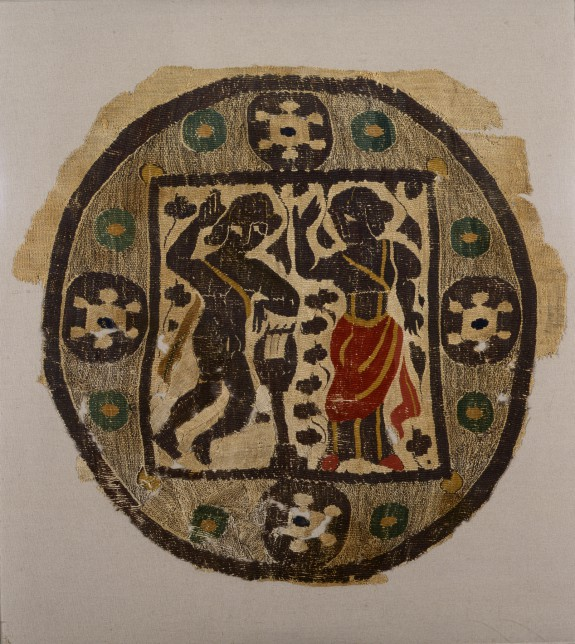 Wall Hanging or Curtain Fragment with Orpheus and Eurydice