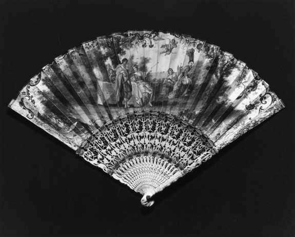 Fan with Bucolic Scene