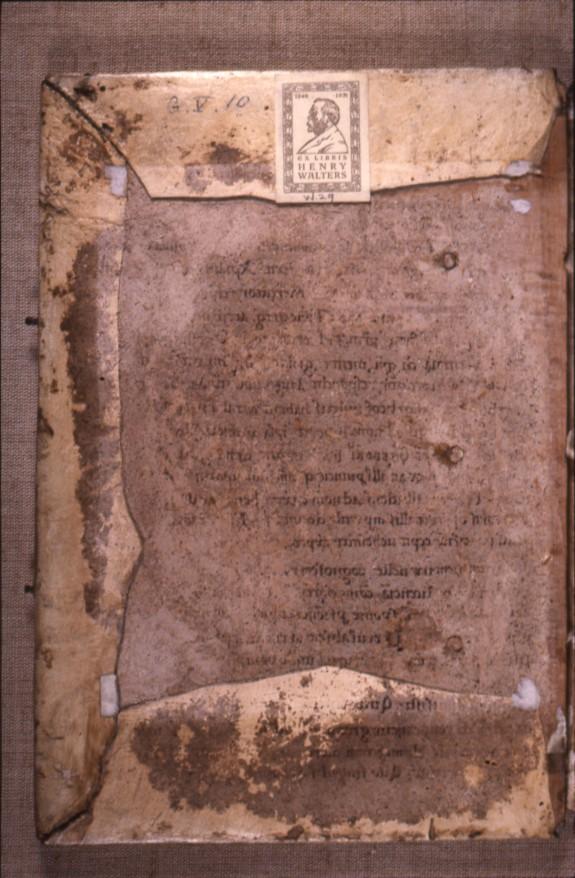 Binding for Expositio in cantica canticorum; Sigillum sanctae Mariae; Neocosmus