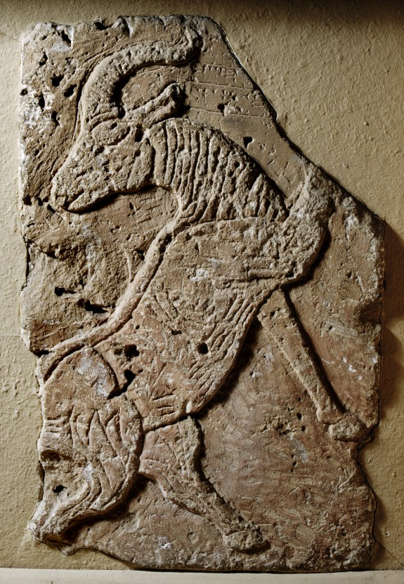 Relief with Goat