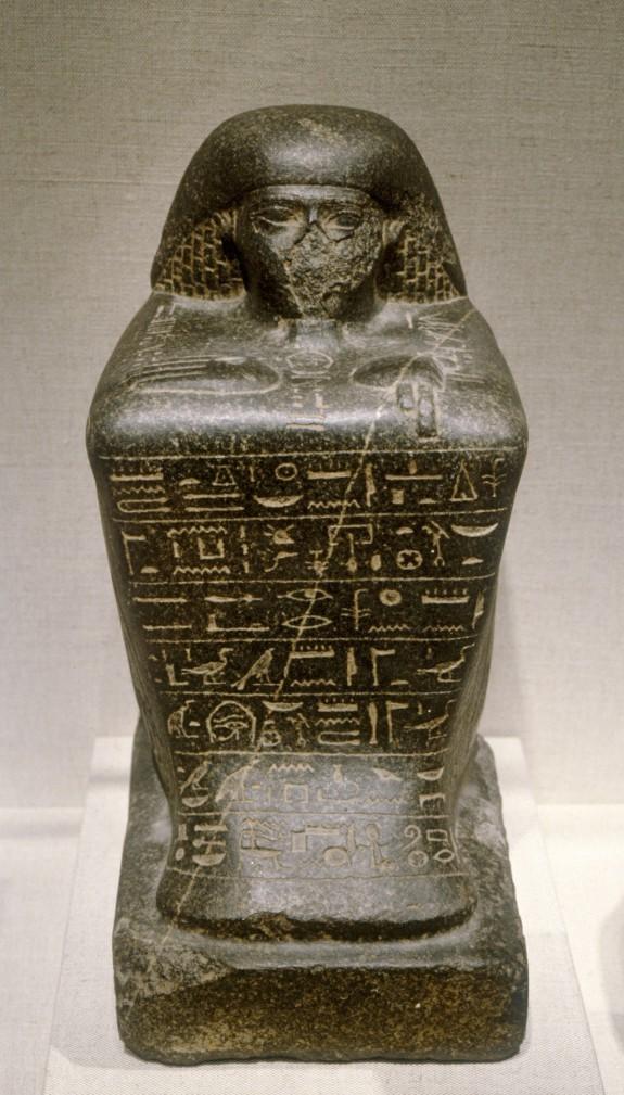 Statue of Irj-aa