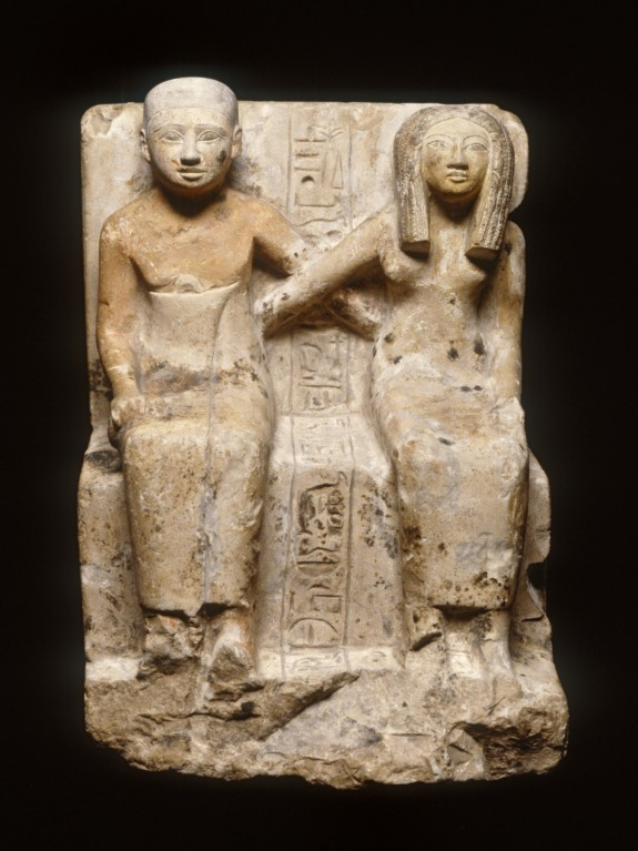 Baker Djehuty and Wife Ahhotep