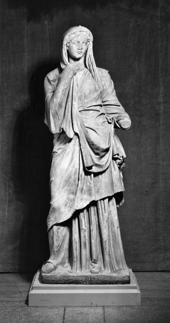 Standing Woman of the Pudicitia Type