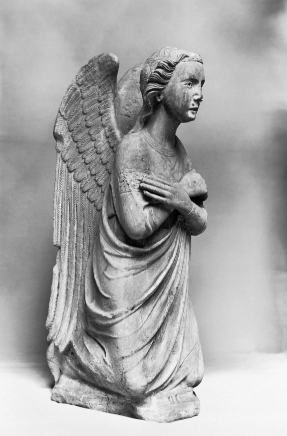 Archangel Gabriel from an Annunciation