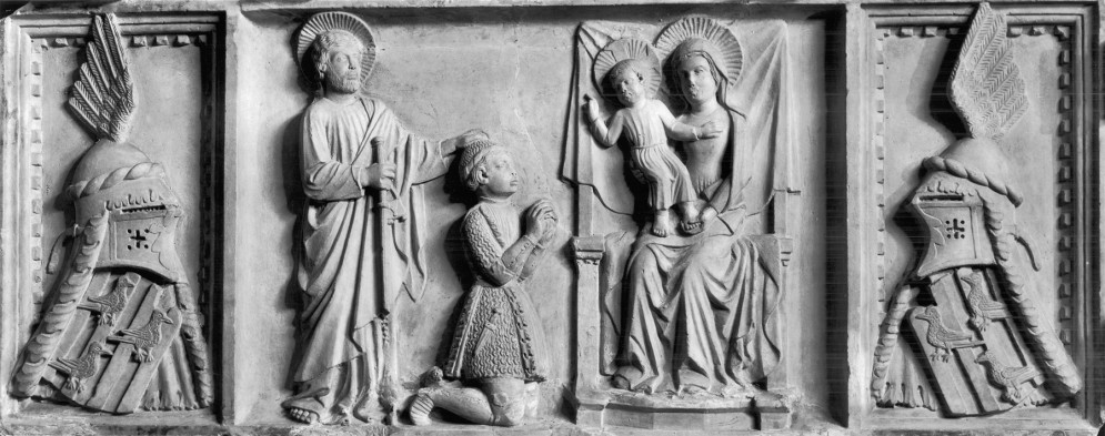 Relief from the Tomb of  Riccardo Gattola