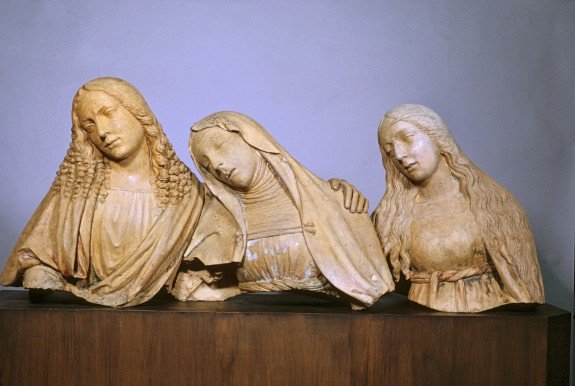 The Mourning Saint John the Evangelist, Virgin Mary, and Saint Mary Magdalene