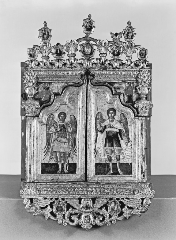 Miniature Iconostasis, with Scenes from the Life of Christ