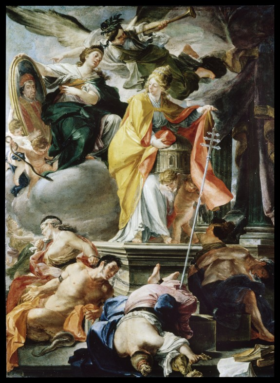 Allegory of the Papacy of Clement XI