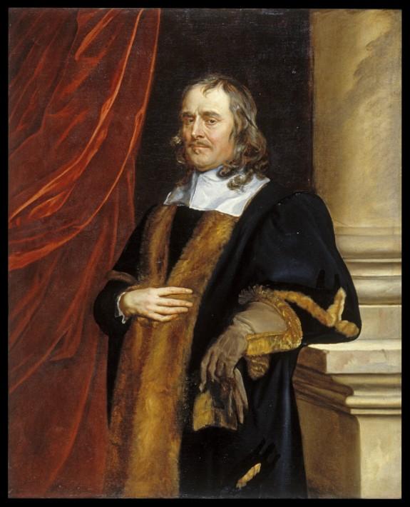 Portrait of P. Lenéve, Alderman of Norwich