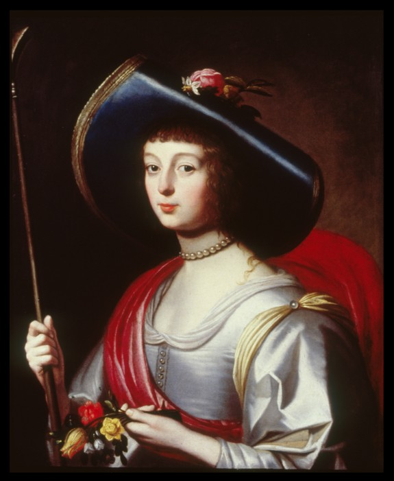 Portrait of a Lady of the Court as a Shepherdess