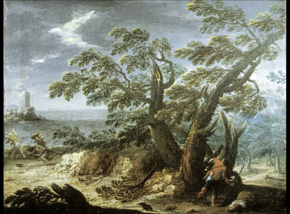 Landscape with Figures in a Storm