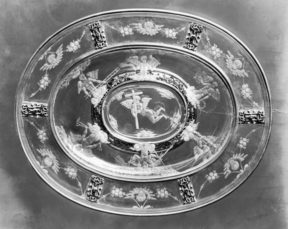 Dish with Symbols of Christ's Passion