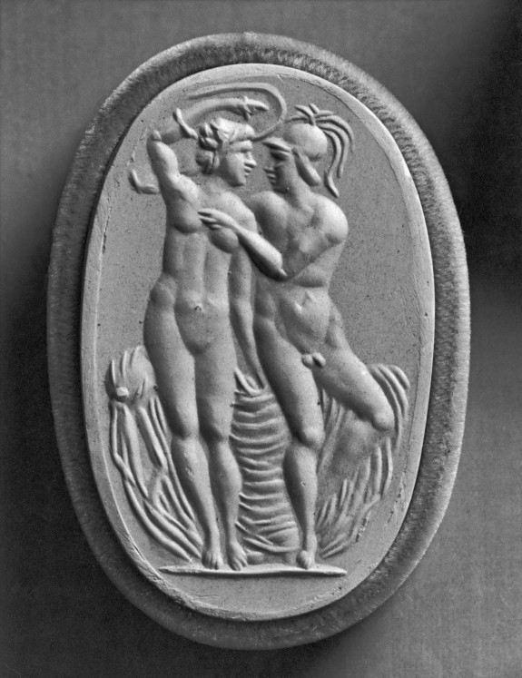 Intaglio of Mars and Venus