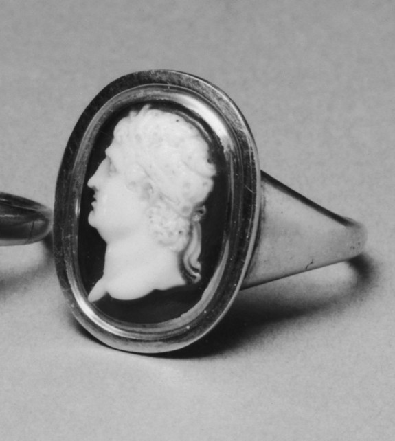 Ring with Cameo Portrait of the Roman General Marcus Agrippa