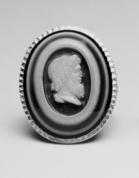 Ring with Cameo of the Head of Jupiter