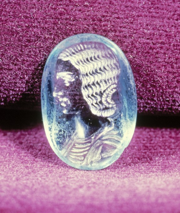 Intaglio with a Bust of Julia Domna