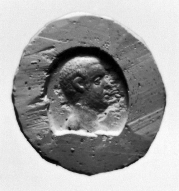 Intaglio with the Head of a Bearded Man