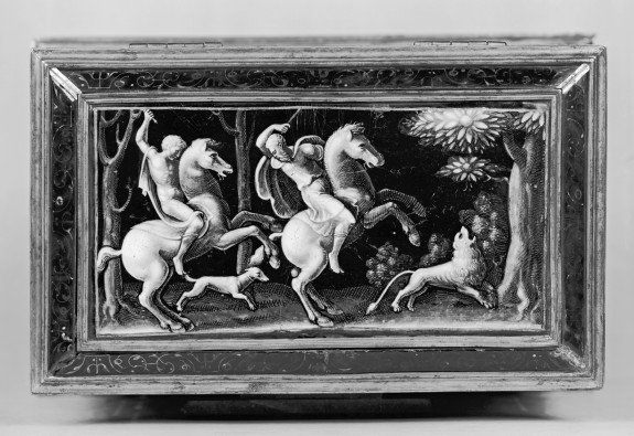 Casket with Scenes of Ancient Lion Hunts