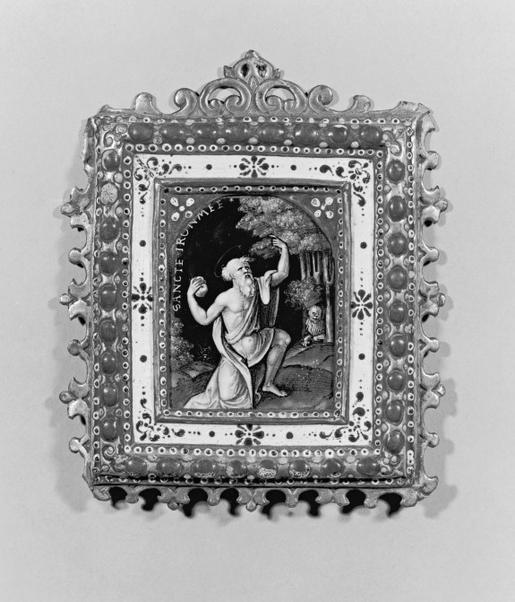 Plaque with the Penitent Saint Jerome