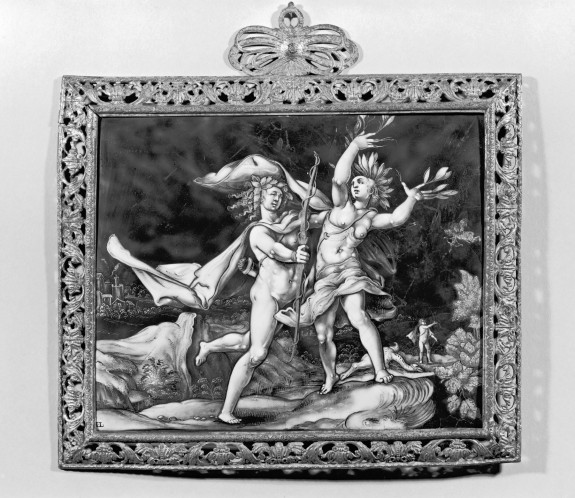 Plaque with Apollo and Daphne