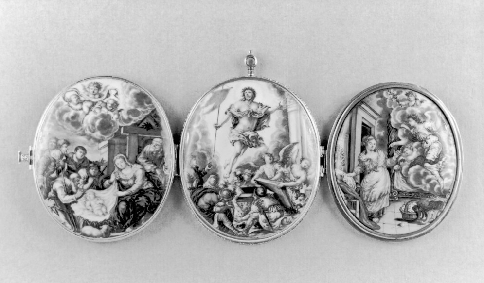 Triptych Locket