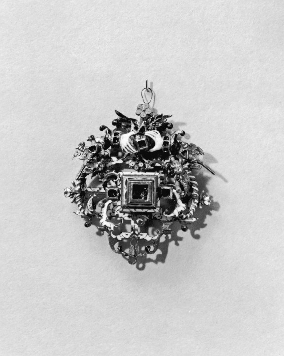 Ornament with Clasping Hands