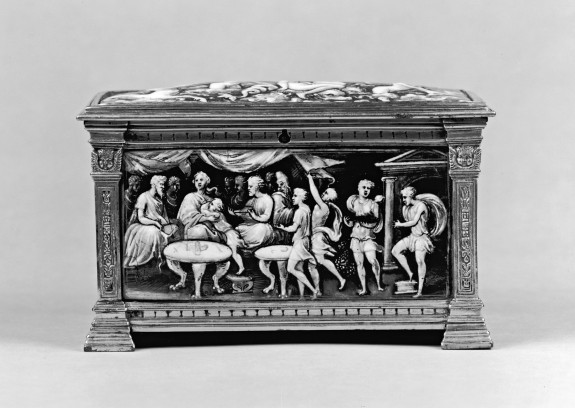 Casket with Scenes of Dido and Aeneas