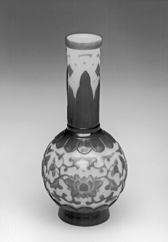 Vase with Peony-Scroll Decoration