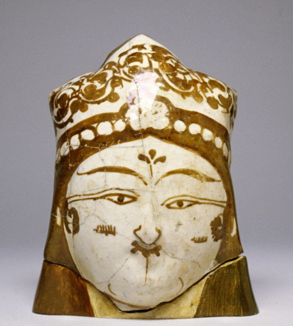 Female Head with Floral Headdress