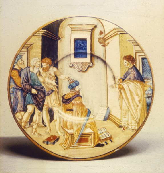 Plate with the School of Xenocrates