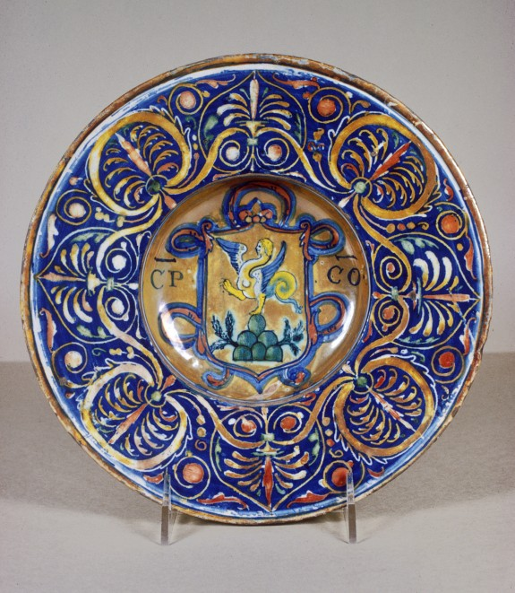 Bowl with Coat of Arms