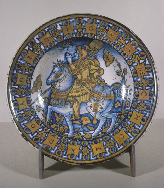 Dish with Constantine the Great