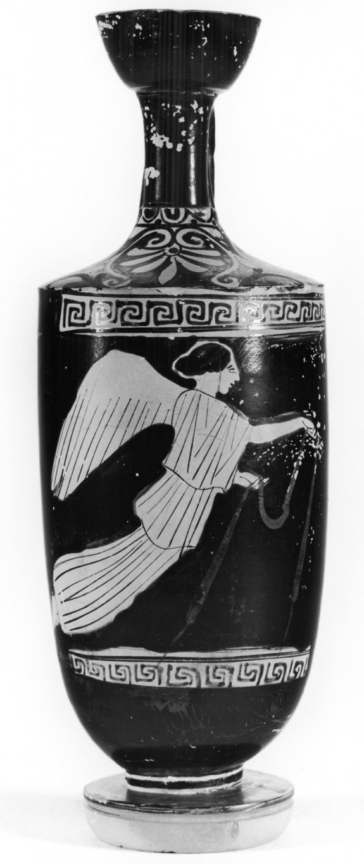 Lekythos with Nike Holding a Band