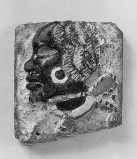 Tile: Captive Nubian Chieftain