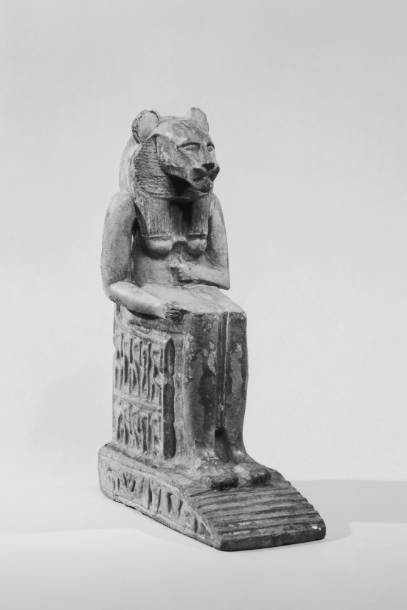 Statuette of Bastet Enthroned