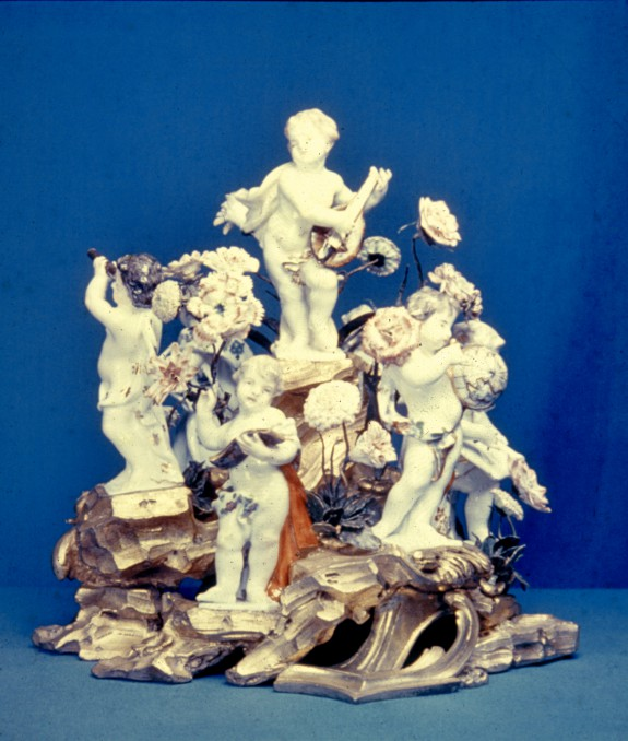 Putti Personifying the Arts and Sciences