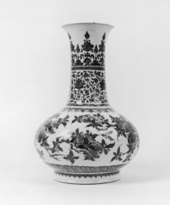 Vase with Pomegranates
