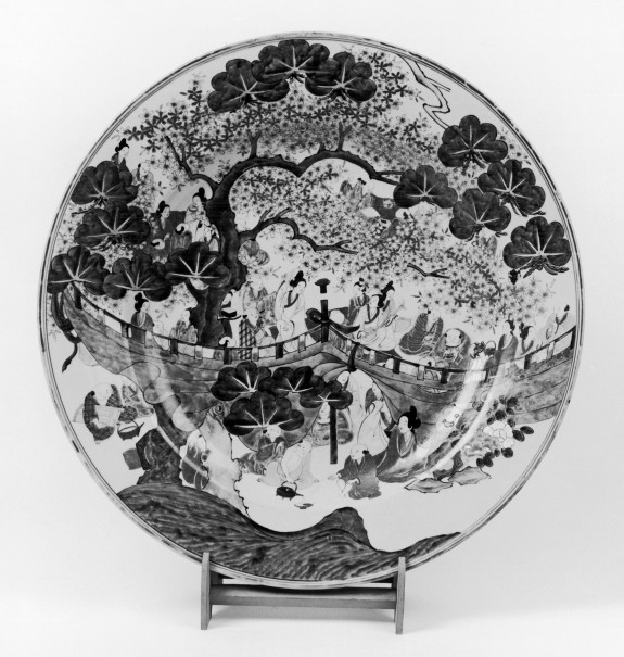 Dish with Cherry Blossom Viewing