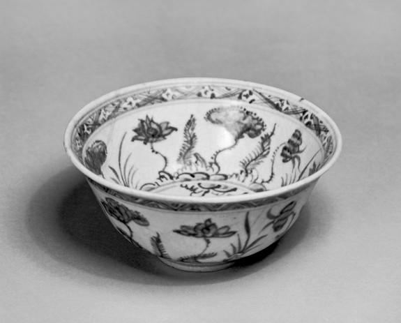 Bowl with Lotus Decoration