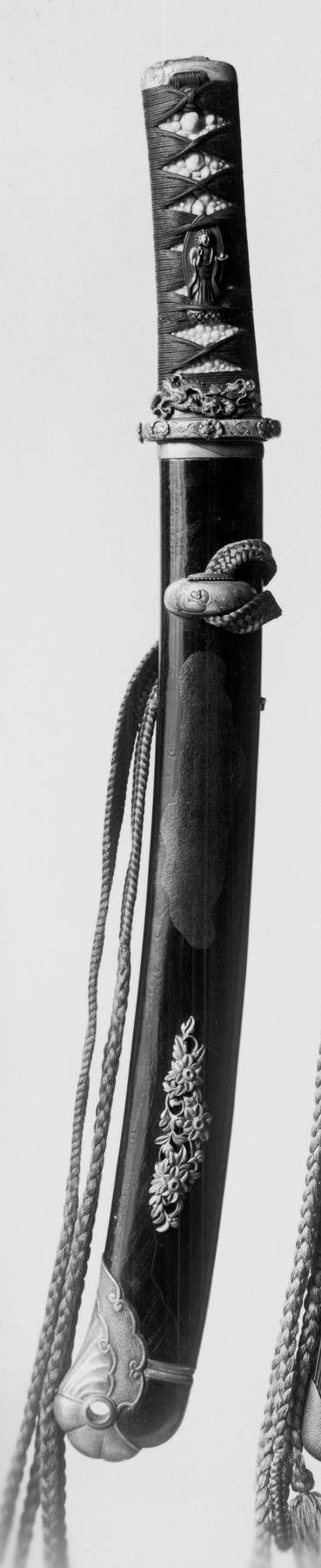 Short Sword with Buddhist Deities and Dragon