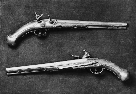 Pair of Flintlock Belt Pistols