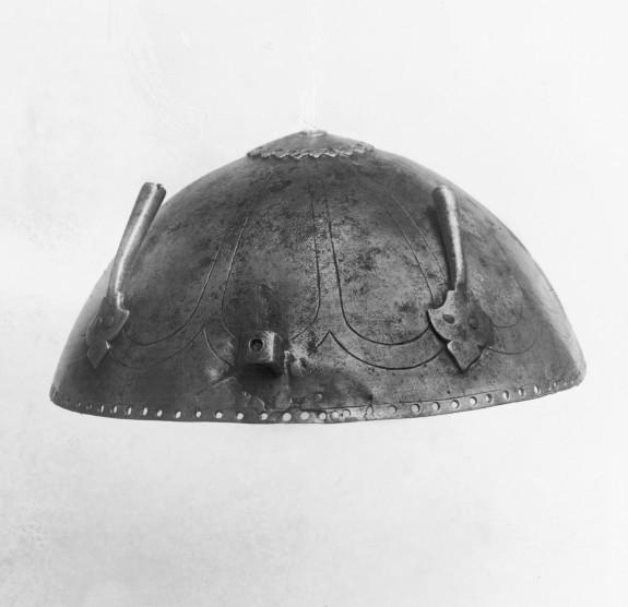 Helmet with Incised Arcade Design