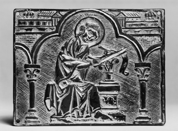 Reliquary Plaque of an Evangelist