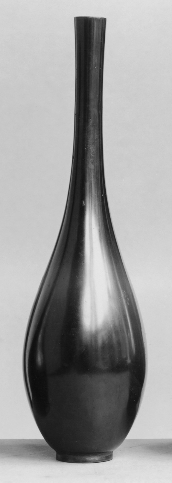 Oviform Bottle with a Long Neck