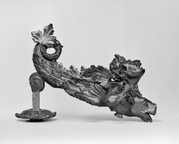 Doorknocker in the Shape of a Demon Riding a Dragon