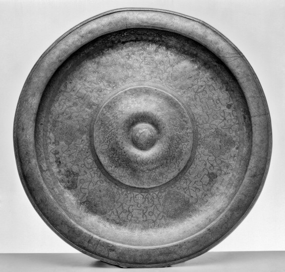 Large Platter with Convex Rim