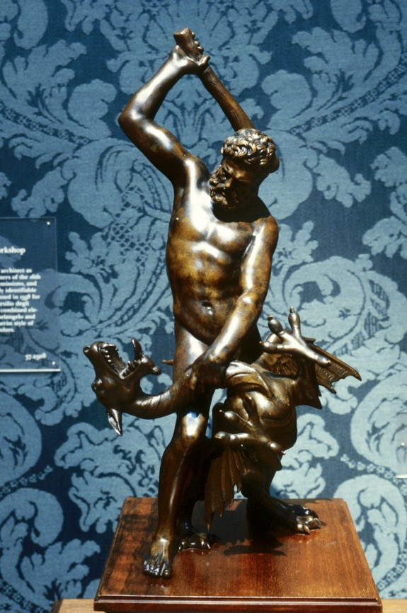 Hercules and the Dragon Ladon