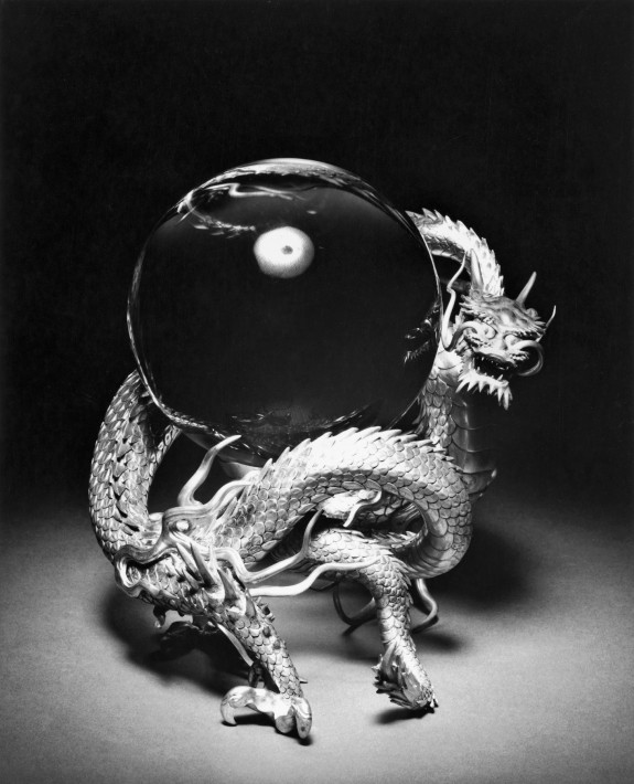 Dragon Supporting a Crystal Ball