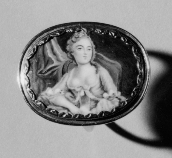 Ring with Minature Portrait